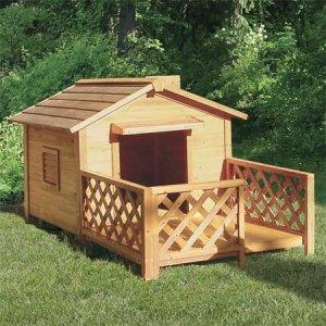 Строим конуру для собаки
